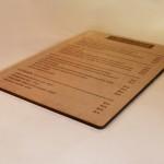 Carte format A4
